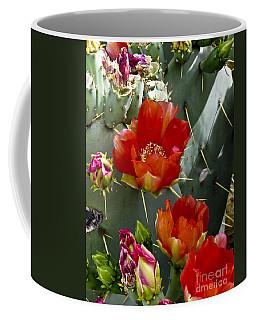 Cactus Blossom Coffee Mug by Kathy McClure