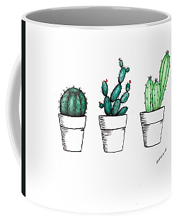 Cactus Coffee Mug by Edwin Alverio