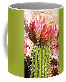 Cactus Flowe Bee Coffee Mug