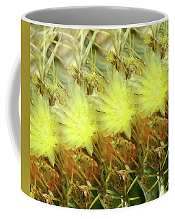 Cactus Flowers Coffee Mug by Kathy Bassett