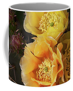 Yellow Cactus Flowers Coffee Mug