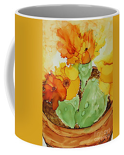 Cactus In A Pot Coffee Mug