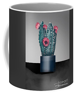 Cactus In Bloom I  Coffee Mug