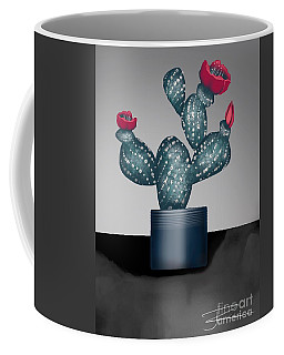 Cactus In Bloom II Coffee Mug