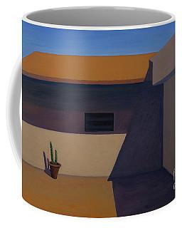 Cactus In Summer Heat Coffee Mug