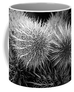 Coffee Mug featuring the photograph Cactus Spines by Phyllis Denton