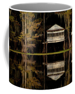Caddo Lake Boathouse Coffee Mug