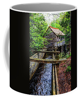Cades Cove Grist Mill In The Great Smoky Mountains National Park  Coffee Mug