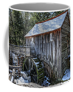 Cades Cove Grist Mill In Winter Coffee Mug