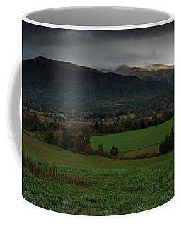Cades Cove Panoramic Coffee Mug