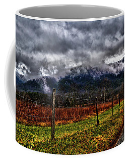 Cades Cove - Storm Clouds 004 Coffee Mug by George Bostian