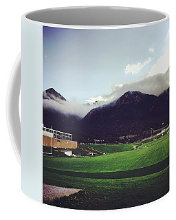 Coffee Mug featuring the photograph Cadet Athletic Fields by Christin Brodie