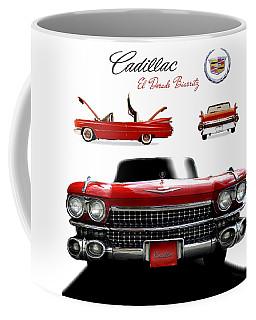 Cadillac 1959 Coffee Mug by Gina Dsgn