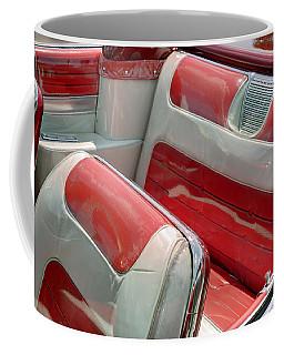 Cadillac El Dorado 1958 Seats. Miami Coffee Mug