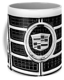 Cadillac Emblem Front Bw Coffee Mug