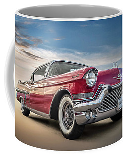 Coffee Mug featuring the digital art Cadillac Jack by Douglas Pittman