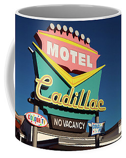 Cadillac Motel Coffee Mug