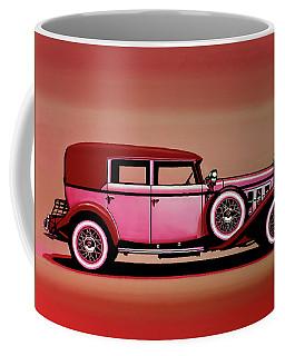 Cadillac V16 Mixed Media Coffee Mug