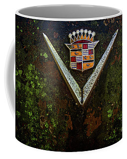 Cadillac Vee And Crest Coffee Mug
