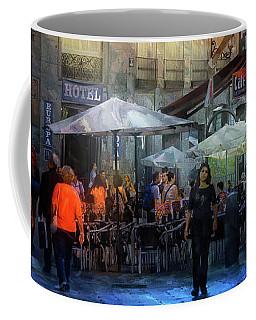 Cafe And Te On A Spanish Street Coffee Mug