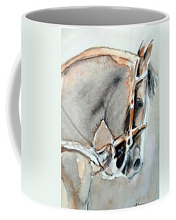 Coffee Mug featuring the painting Cafe Au Lait by Ed Heaton