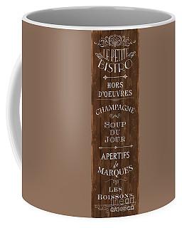 Coffee Mug featuring the painting Cafe De Paris 2 by Debbie DeWitt