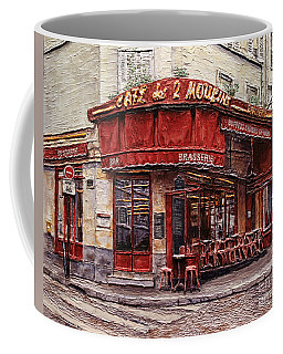 Cafe Des 2 Moulins- Paris Coffee Mug