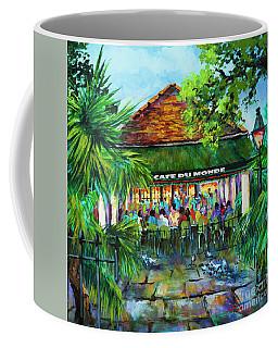 Cafe Du Monde Morning Coffee Mug