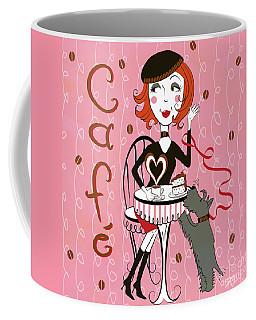 Cafe Girl Coffee Mug