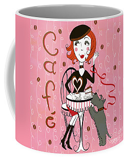 Cafe Girl Coffee Mug