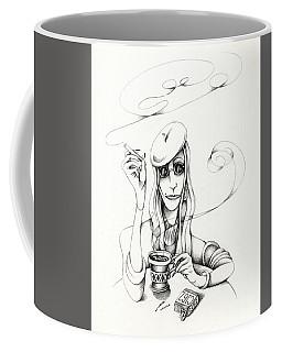 Cafe Lady Coffee Mug