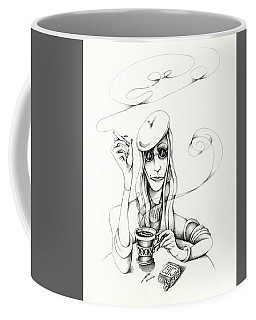 Cafe Lady Coffee Mug