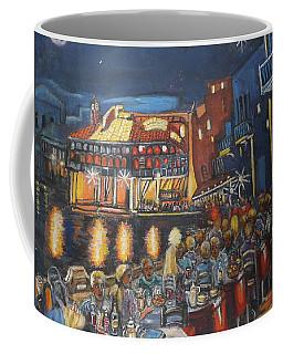 Cafe Scene At Night Coffee Mug