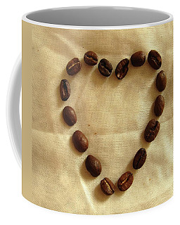 Caffeinated And Infatuated Coffee Mug by Mary Ellen Frazee
