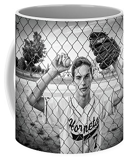 Coffee Mug featuring the photograph Caged Competitor by Bill Pevlor