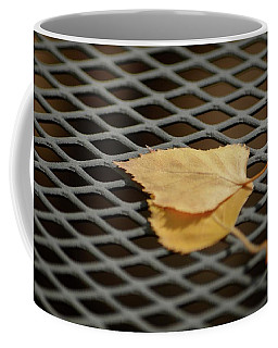 Caged Leaf Coffee Mug