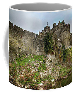 Coffee Mug featuring the photograph Cahir Castle by Marie Leslie