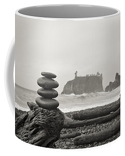 Cairn On A Beach Coffee Mug