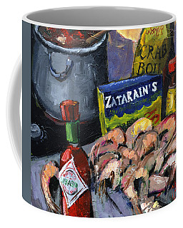 Cajun Boil Coffee Mug by Carole Foret
