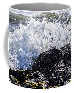 California Coast Wave Crash 4 Coffee Mug