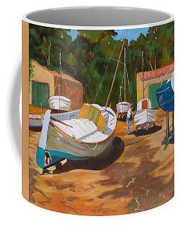 Cala Figuera Boatyard - I Coffee Mug