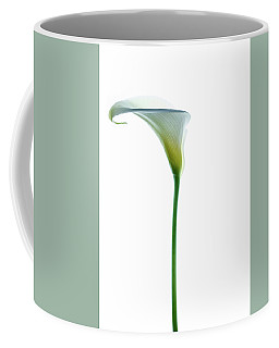 Coffee Mug featuring the photograph Cala Single Color by Rebecca Cozart