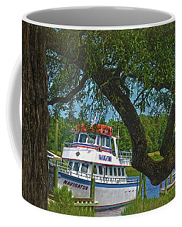 Calabash Deep Sea Fishing Boat Coffee Mug