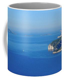 Calanques Blue Coffee Mug