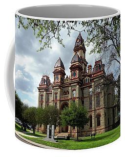 Caldwell County Courthouse Coffee Mug by Ricardo J Ruiz de Porras