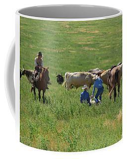 Calf Roping Coffee Mug
