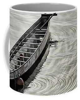 Coffee Mug featuring the photograph Calgary Dragon Boat by Brad Allen Fine Art