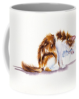Calico Cat Washing Coffee Mug
