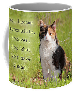 Calico Quote Coffee Mug