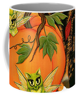 Calico's Mystical Pumpkin Coffee Mug